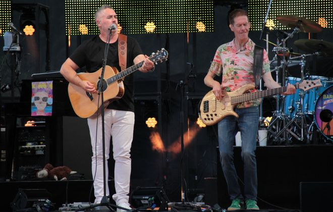 The Barenaked Ladies performed the headlining set at Artpark on Tuesday. (Sarah McIlhatten/Special to The News)