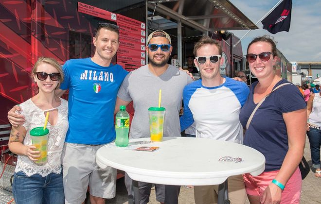 Smiles at the 2017 Italian Festival, held for the first time at the Outer Harbor. This year's festival runs from July 12-15. (Matt Weinberg/Special to The News)