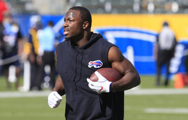 Bills running back LeSean McCoy has been the subject of trade rumors. (Harry Scull Jr./News file photo)