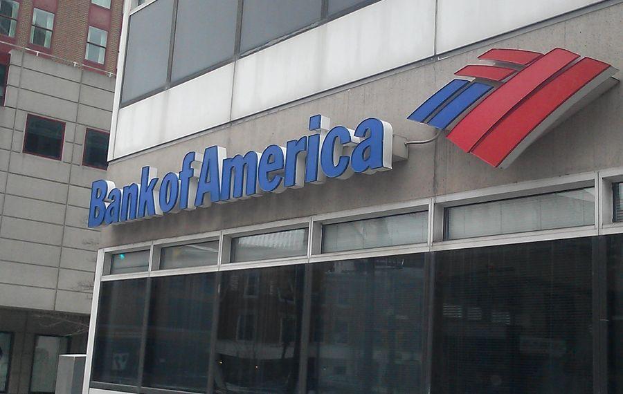 Bank of America will close a location in Lewiston (Matt Glynn/Buffalo News)