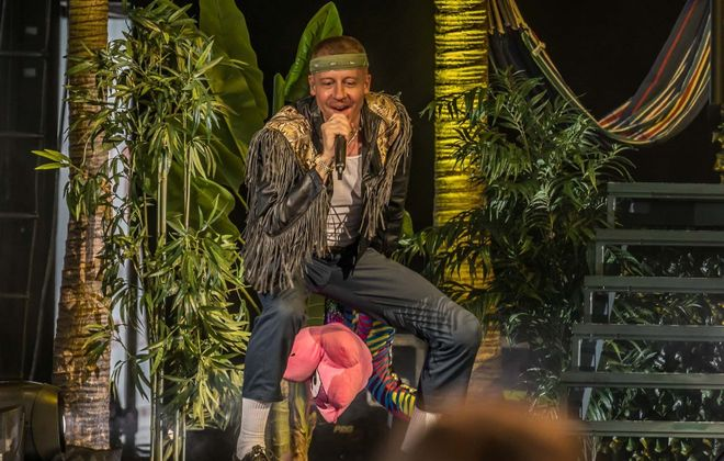 Macklemore performed at Darien Lake in 2018. (Don Nieman/Special to The News)