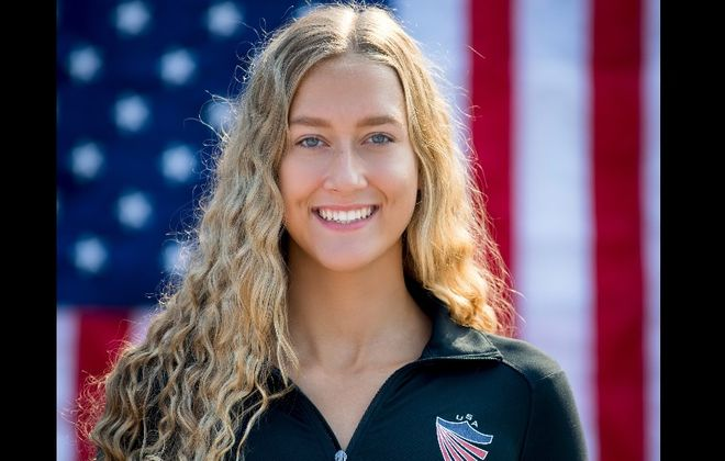 Cassandra Neeley of Williamsville has her eyes on the Olympics. (Photo: USA Synchronized Swimming)