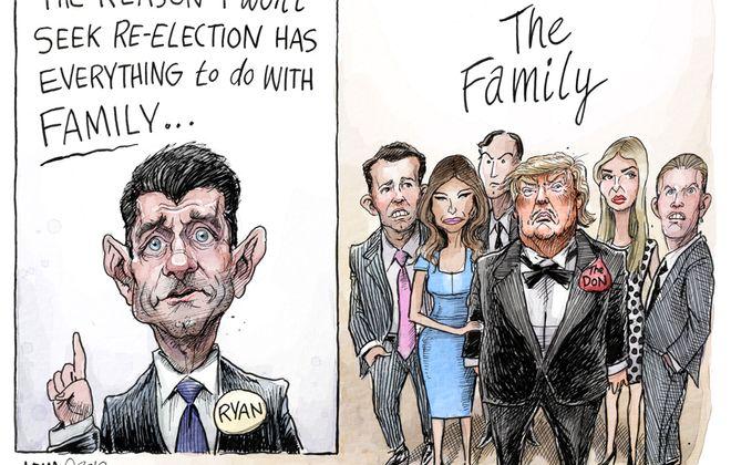 Paul Ryan retiring: April 13, 2018