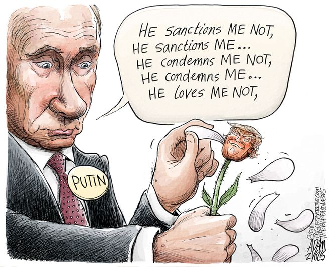 Trump and Putin: April 22, 2018