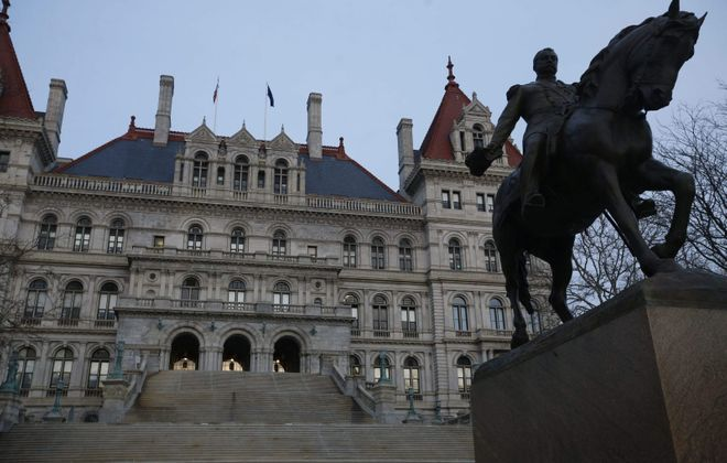 The State Capitol in Albany. (Derek Gee/News file photo)