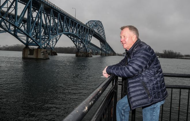 Paul McCarthy Jr.'s dad led a campaign in 60s to get rid of tolls at Grand Island.  (James P. McCoy/Buffalo News)