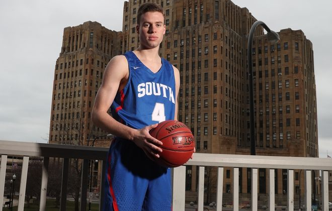 Greg Dolan of Williamsville South is the Allen Wilson Buffalo News Player of the Year. (James P. McCoy/Buffalo News)