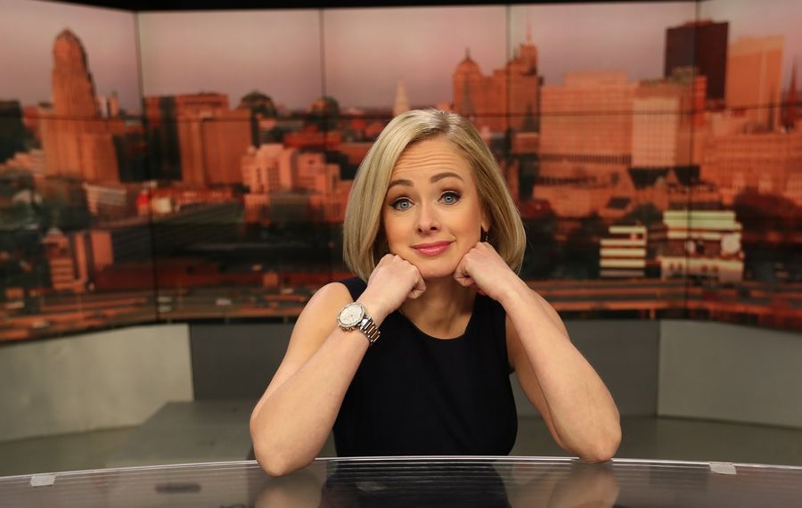 Channel 2 features reporter-anchor Kate Welshofer has her own YouTube channel. (Sharon Cantillon/News file photo)