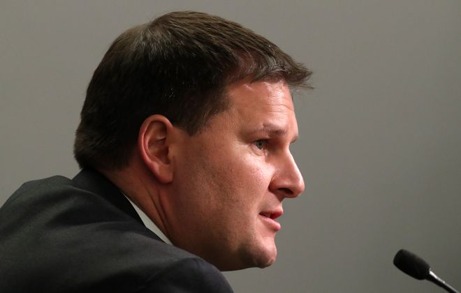Sabres general manager Jason Botterill says the organization understands the fans' pain. (James P. McCoy/Buffalo News)