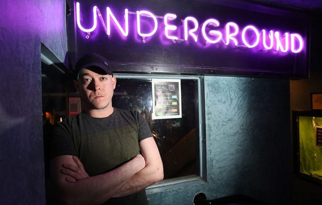 Nick Tiede, owner of the Underground Niteclub, plans to reopen the bar after a federal agency reversed its decision to shut it down. (Sharon Cantillon/News file photo)