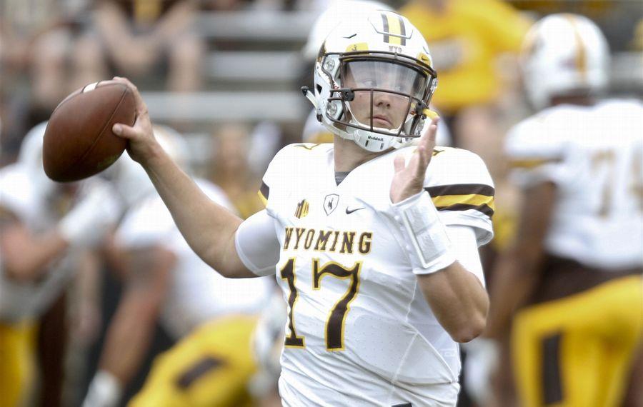 Wyoming QB Josh Allen (Matthew Holst/Getty Images)