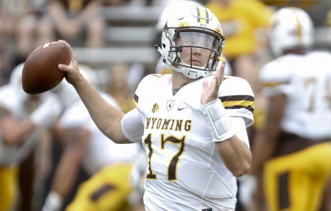 Wyoming's Josh Allen. (Getty Images)