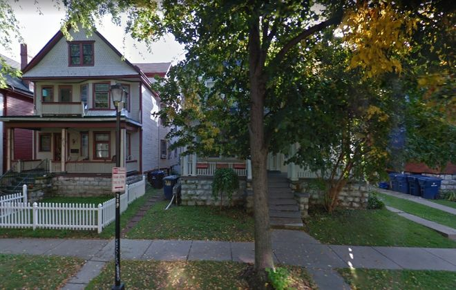 This apartment house at 721 Ashland Ave. was sold by Ciminelli Real Estate Corp. (Google Maps)