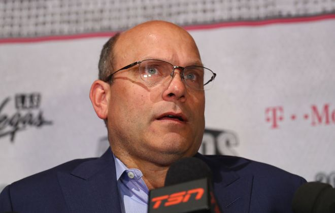 Edmonton's Peter Chiarelli was a GM of the Year finalist in 2017 whose team missed the playoffs in 2018 (Getty Images).