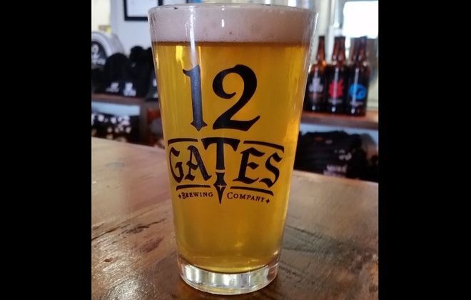 12 Gates' Barbaric Blonde Ale was brewed specifically for 103.3 The Edge. (via 12 Gates)