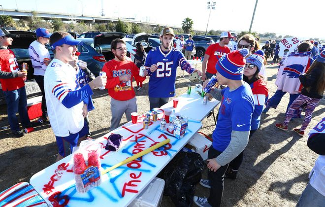 While most Bills fans enjoy good natured, unoffensive tailgating before games at New Era Field, a minority of them cause enough trouble that the organization has enacted welcome new rules to keep a lid on gross misbehavior. (Mark Mulville/News file photo)