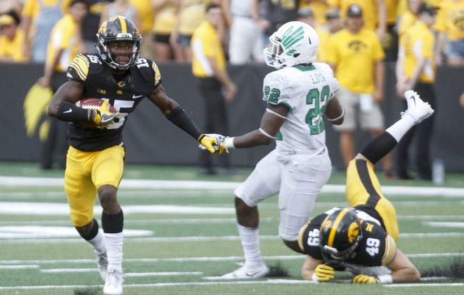 Iowa cornerback Josh Jackson has only one year of starting experience, but is expected to be a first-round draft pick. (Getty Images)