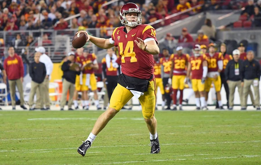 The Jets made former USC quarterback Sam Darnold the third overall pick of the draft. (Getty Images file photo)