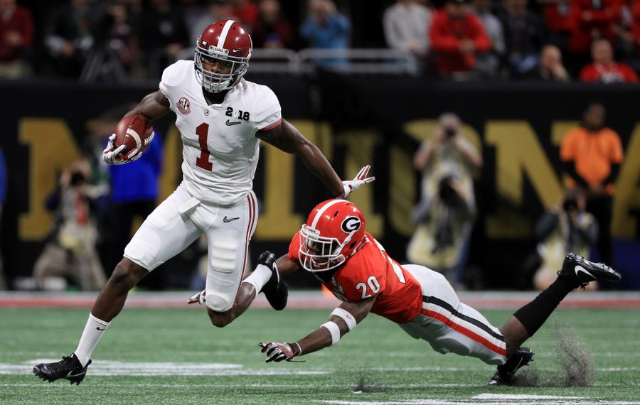 Receiver Robert Foster is among the group of 12 undrafted free agents who signed with the Buffalo Bills on Friday. (Getty Images)