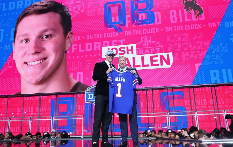 The News' Alan Pergament relays national reaction to the Bills' pick of Josh Allen, plus how local TV stations covered the draft. (Tom Pennington/Getty Images)