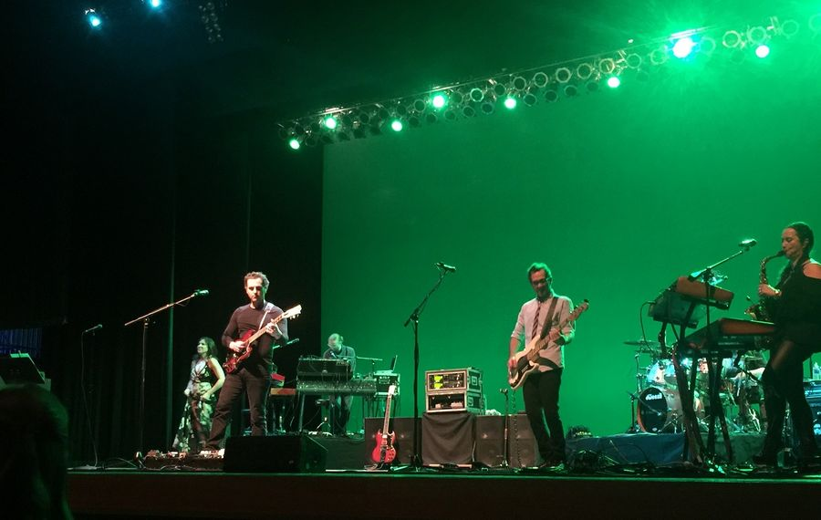 Dweezil Zappa and his merry band of virtuosos performed a riveting 2 1/2-hour set of music at UB's Center for the Arts. (Jeff Miers)