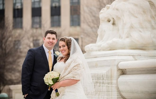 Erin & Ryan's crosstown romance (and venues)
