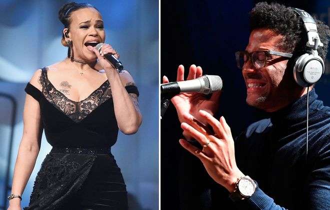 Faith Evans, left, and Eric Benet will stop on their Duets tour in Buffalo to headline the new Summer Soul Festival. (Getty Images)