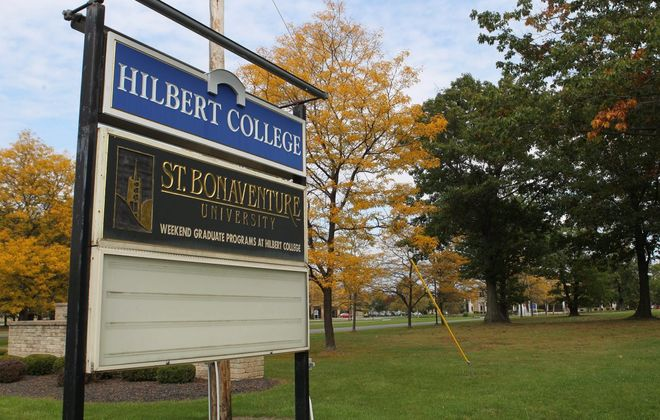 Hilbert College. (Sharon Cantillon/Buffalo News)