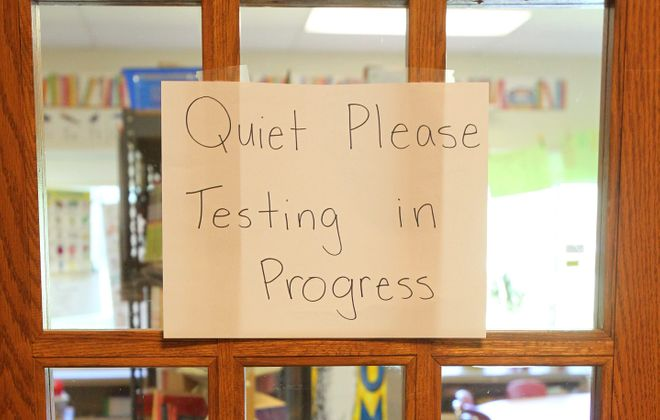 Data shows a dip in area students' proficiency in state tests. (News file photo)