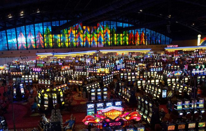 The Seneca Nation needs to honor its legal commitment to binding arbitration and pay New York the money it has withheld from its three Western New York casinos. (Sharon Cantillon/News file photo)