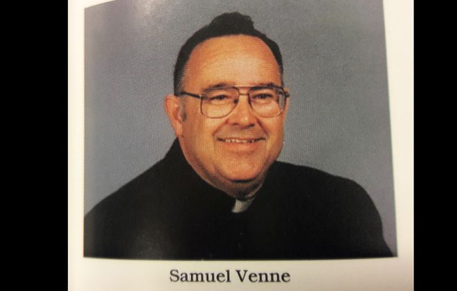 The Rev. Samuel Venne  (Diocese of Buffalo's 1995 Priests' Pictorial Directory)