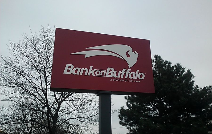 Bank on Buffalo's parent reported a 9.2 percent increase in profits. (Matt Glynn/Buffalo News)