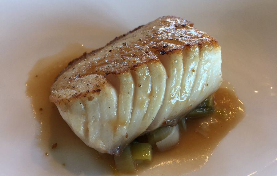 Black cod at Dobutsu. (Andrew Galarneau/Buffalo News)