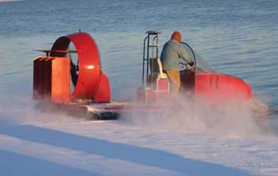 Cheektowaga may have sold its Universal Hovercraft 19XR-IC, similar to the one pictured, after seven years of underuse.
