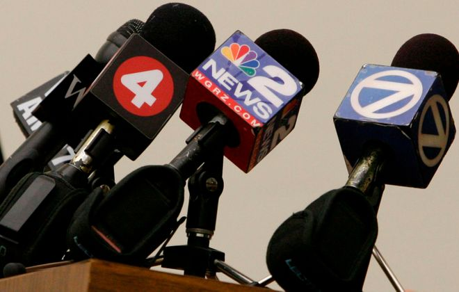 Local news stations are coming up with creative ways to cover the news while keeping their staff safe during the Covid-19 pandemic. (Derek Gee/News file photo)