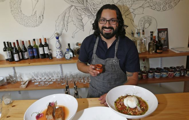 Las Puertas owner and Chef Victor Parra Gonzalez was featured by the New York Times. (Robert Kirkham/News file photo)