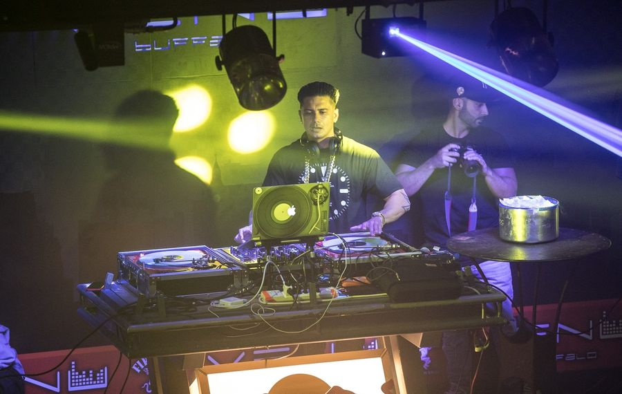'Jersey Shore Family Vacation' star DJ Pauly D will celebrate his birthday in the Buffalo area. (Chuck Alaimo/Special to The News)