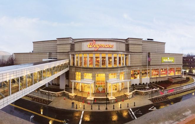 A giant Wegmans, attached to the Natick Mall in Massachusetts, opens Sunday. (Contributed photo)