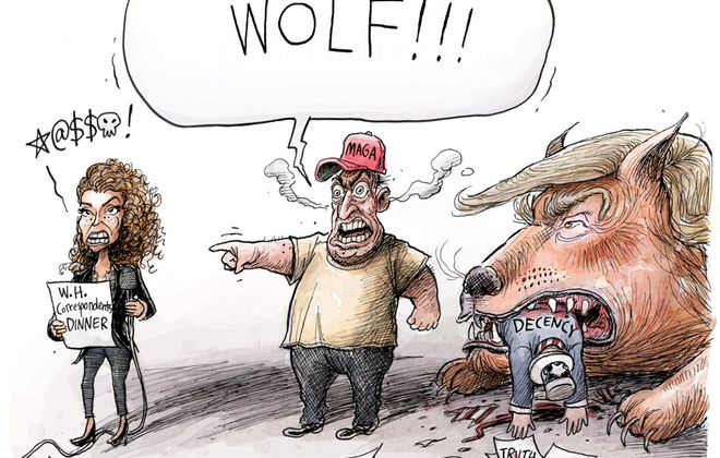 Crying Wolf: May 1, 2018