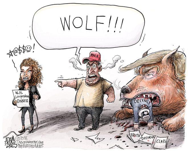 Crying Wolf: May 1, 2018