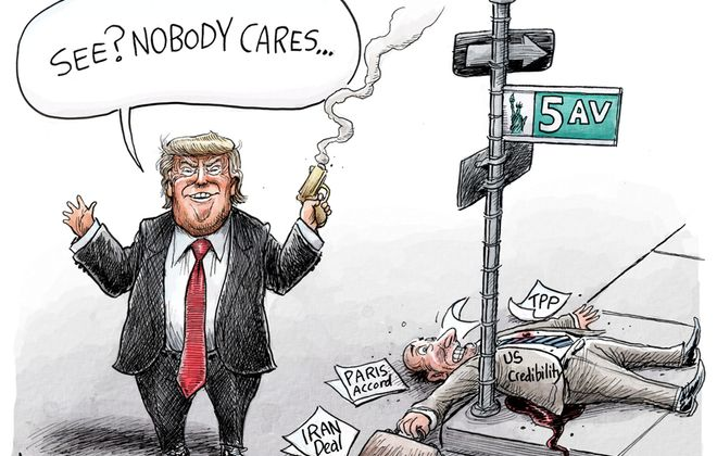 US Credibility: May 10, 2018