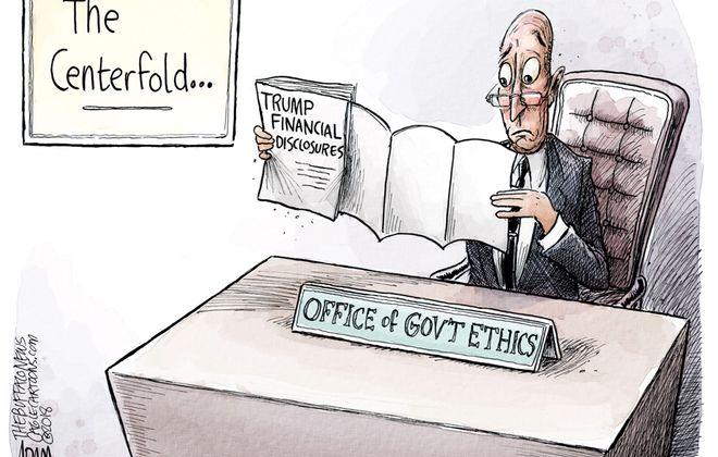 Trump Disclosure: May 17, 2018