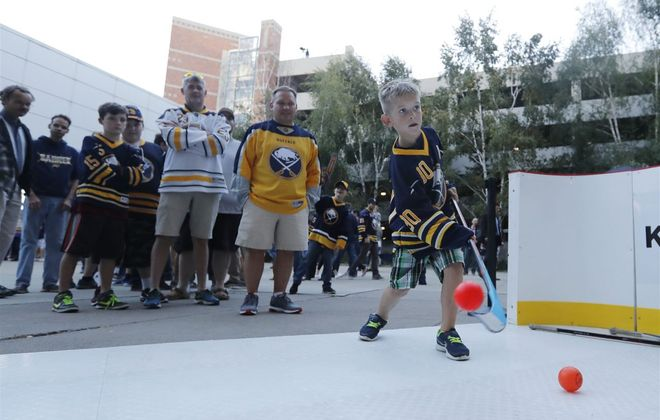 Ryan Major is just one of the fans the Sabres can embrace. (Mark Mulville/News file photo)