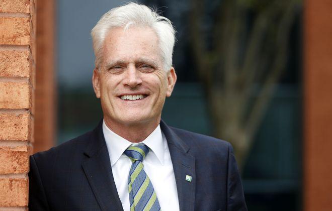 "Rick Hamister sees his new post as New York region president of Northwest Bank as ""entrepreneurial""   (Mark Mulville/Buffalo News)"