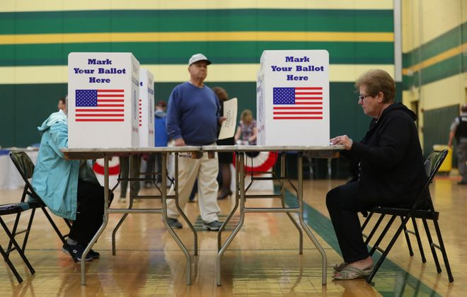 A survey shows the House Republican majority will be defeated soundly on Nov. 6, but not if you don't vote, says Douglas Turner. (Sharon Cantillon/Buffalo News)