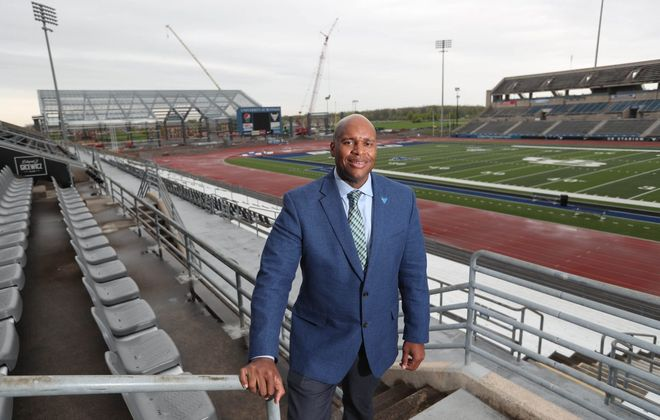 Mark Alnutt, the University at Buffalo's athletic director, views the MAC schools as UB's competition for coaches (Sharon Cantillon/Buffalo News fle photo)