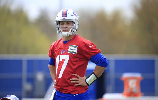 Buffalo Bills rookie quarterback Josh Allen. (Harry Scull Jr./Buffalo News)