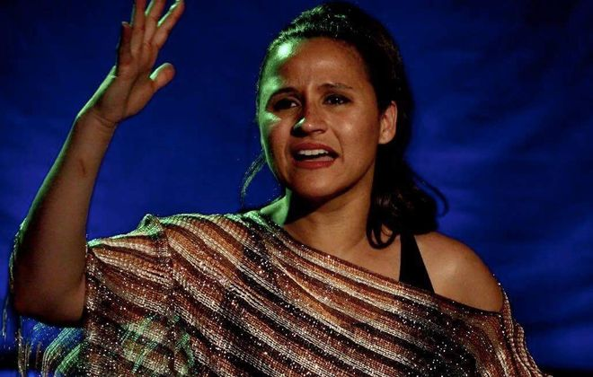 """Melinda Capeles stars in Raíces Theatre's production of """"La Lupe"""" in the Manny Fried Playhouse. (Provided photo)"""