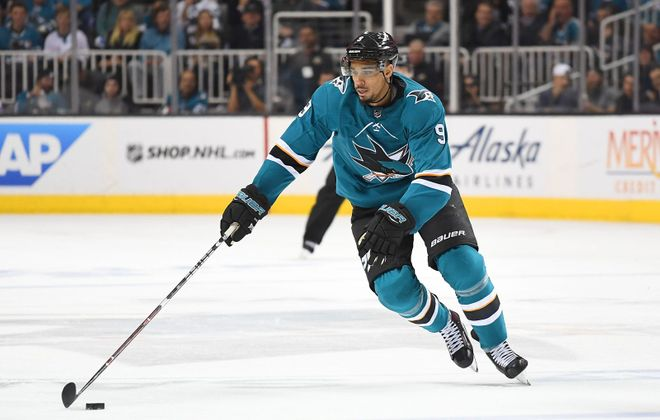 Evander Kane likely boosted his stock with a good run in San Jose. (Getty Images)