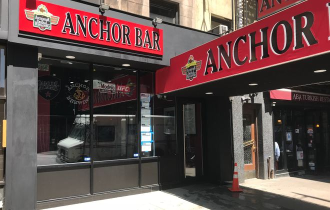 Anchor Bar NYC, which opened at 327 W. 57th St. in Manhattan, did not have wings for several hours on Day 2. (via Anchor Bar NYC)